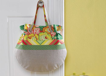 Bag Sewing Pattern: Spring Tote
