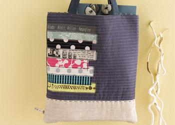 Free Tote Bag Pattern: Odekake Tote