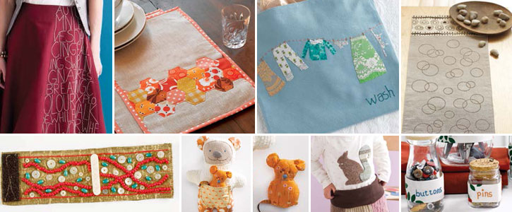 Discover all eight of these hand sewing projects when you download your eBook today!