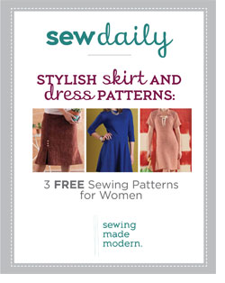 Learn how to sew a skirt with this stylish eBook!