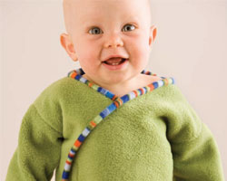 Sewing Baby Gifts: Baby Wrap Jacket
