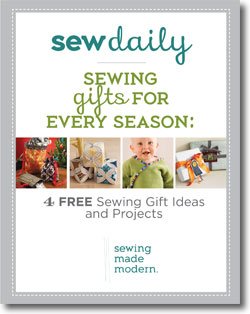 Download Your Free eBook of Sewing Gift ideas and Easy Sewing Projects for Gifts!