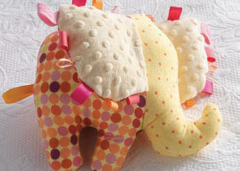 Free Toy Sewing Patterns: Loopy Elephant