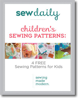 Don't forget to download your 4 free sewing patterns for kids.