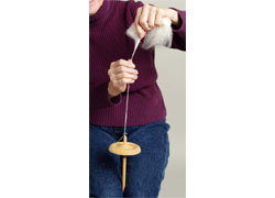 Learn How to handspin yarn