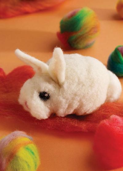 make a felt bunny