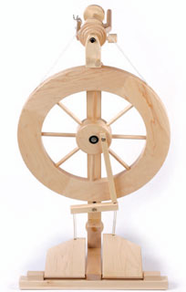 Learn everything from spinning wheel history to proper spinning wheel care.