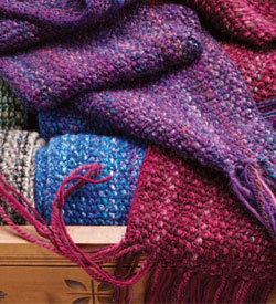 Free Scarf Knitting Patterns: Spontaneous Knitting