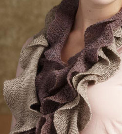 Free Scarf Knitting Patterns: The Helix Scarf