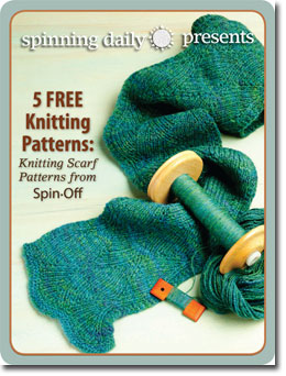 Download your 5 free scarf knitting patterns.