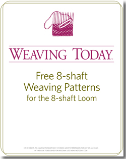 Weaving on 8-shaft looms