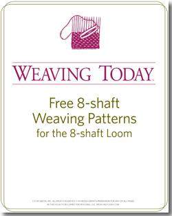 Weaving on 8-shaft looms