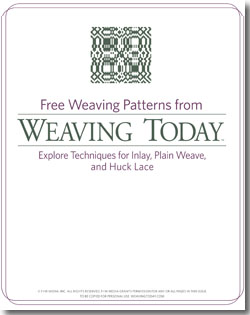 Free Weaving Patterns from Weaving Today