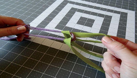 weaving tshirt yarn