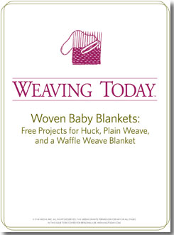 baby-blanket-weaving