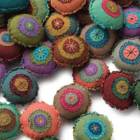 Blog: Hand Stitch a Bevy of Boro Bobbles