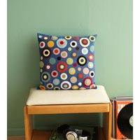 Easy Felt Confetti Pillow Decoration