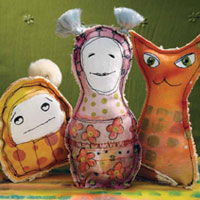Free eBook: 4 Free Projects for Art Dolls & Stuffies