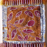 Blog: How to Use Tea Bags in Fabric Art