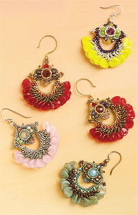 Yafa Petal Earring Project Kit