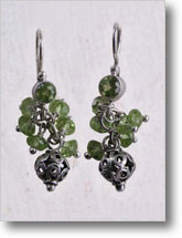 Holiday Peridot Earrings
