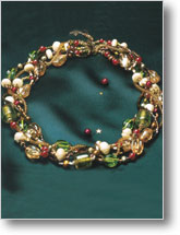 Victorian Holiday Necklace