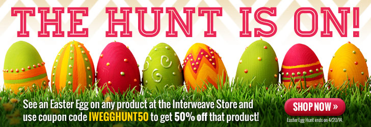 Interweave Easter Egg Hunt