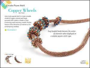 Fabulous Peyote Stitch with Crystal Accents eMag