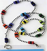 how to make a beaded lanyard