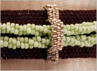peyote stitch bracelet