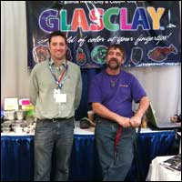 Glassclay booth