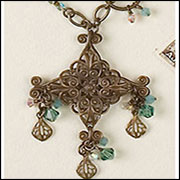Brass Snowflake