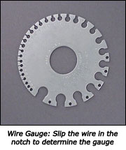 Wire gauge tool