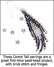 Comet Tail Earrings
