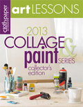 2013 Art Lessons: Collage and Paint Series