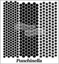 Punchinella 12 Inch Stencil