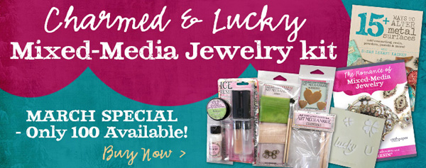 Charmed and Lucky Mixed-Media Jewelry Kit