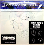 Art Lesson 3 + Jane's Stencils