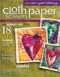 Cloth Paper Scissors January/February 2013