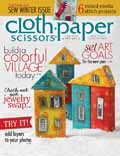 Cloth Paper Scissors, November/December 2013