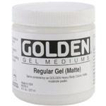 Golden Gel Matte