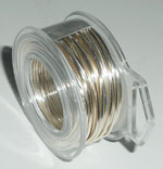 Silver-Plated Copper Wire Spool