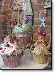 Cupcake Assemblage