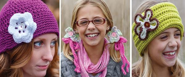 Blooming Crochet Hats