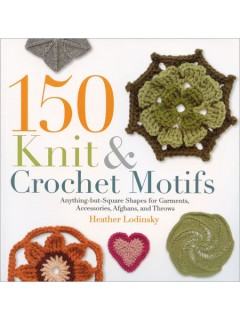 150 Knit and Crochet Motifs book