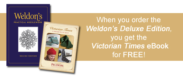 Weldon's Practical Needlework Deluxe Edition and Bundle