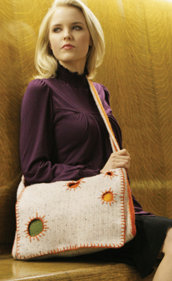 Crochet Pattern: Kaleido Messenger Bag