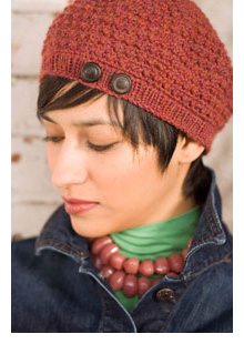 Crochet Bobble Beret - Media - Knitting Daily