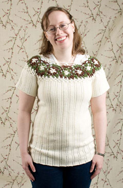 Forest Flower Pullover