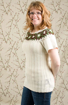 Forest Flower Pullover